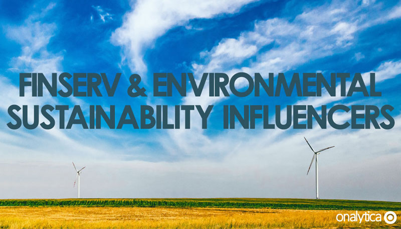Finserv Environmental Sustainability Influencer.