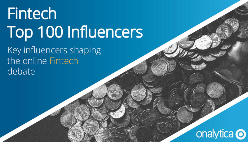 Fintech Top 100 Influencers Onalytica