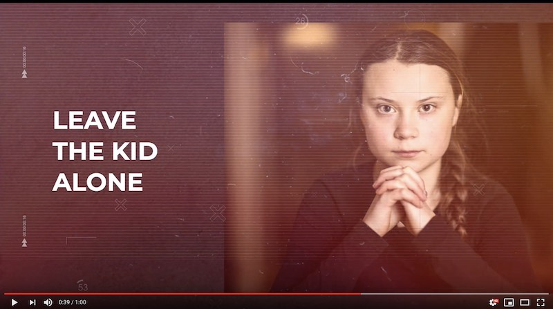 Greta Thunberg — Celebrating the WEF 50th anniversary with 50 bytes from Davos 2020